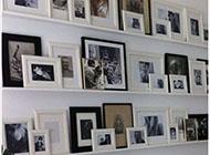 时尚美观的相片墙设计案例