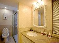 简约美观的卫生间装修效果图欣赏