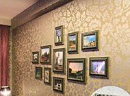 古典风格的相片墙设计案例