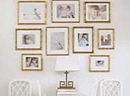 好看的宝宝相片墙设计效果图