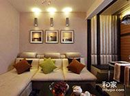 现代时尚简约二居室婚房装修设计图片