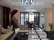 温馨复式三居室装修效果图简约时尚