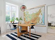 瑞典小清新格调一居室小户型装修图