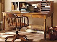 书房美式装修效果图大气精美
