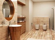温馨浪漫的卫生间装修效果图