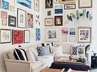 温馨浪漫的相片墙设计参考