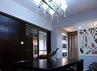 现代简约三居室装修设计案例