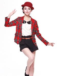 时装模特的制服诱惑