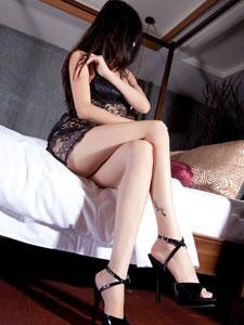 美腿模特Sabrina诱惑写真
