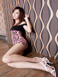 高跟修长美女美腿Miya