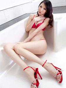 红色妖姬美腿美女yoyo