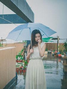 因为你,我的世界开始下起雨