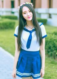 天使少女的校服清新写真