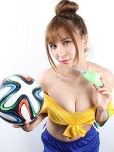 性感妩媚足球宝贝助阵巴西火辣身材完美曲线