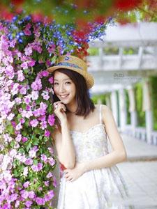 花中仙子花的世界里甜蜜绽放