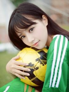 足球宝贝Toro羽住青春甜美写真