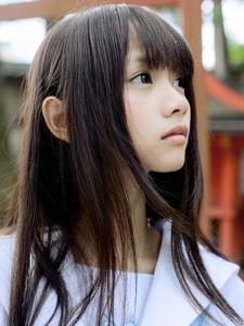 17岁清纯黑长直可爱少女夏季柔美宛若初恋