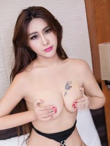 妩媚美女孟狐狸情趣透视半裸大胆人体艺术照