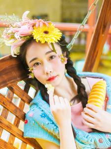 可爱花仙子私房浪漫梦幻写真
