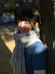 镇西寿寿歌清新甜美秋日写真