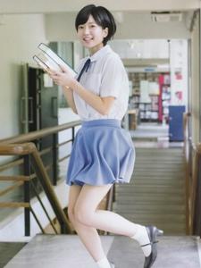 清新性感日系美女须藤零零花杂志写真