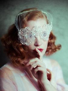 杰西卡·查斯坦复古别样时尚摄影写真