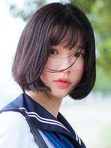 水手服萌萌哒短发美少女软妹十足