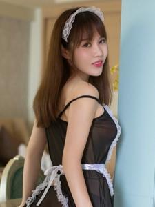 女仆制服美女落落美臀前凸后翘性感诱人
