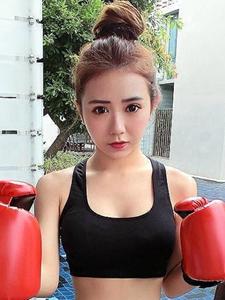 马晨熙魅力健身俏丽小女人
