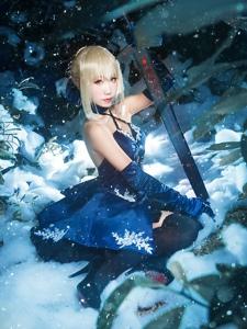 Fate/GrandOrdersaber冷意的美感