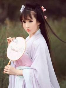 晶钰文化刘海古装美女唯美写真