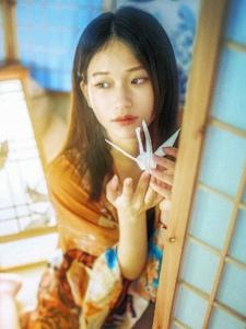 私房温馨少女唯美千纸鹤靓丽迷人