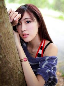 台湾美女Kila户外清新生活随拍写真