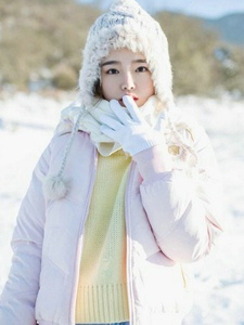 冬季清纯少女阳光温馨迷人诱惑写真
