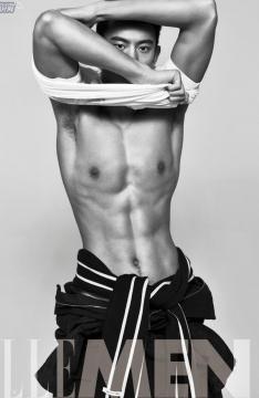宁泽涛肌肉写真大片-又帅又性感
