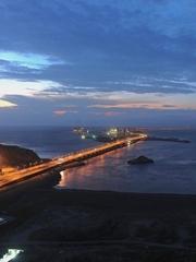 东海大桥和洋山港