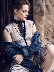 暮光女克里斯汀·斯图尔特 登时尚杂志封面