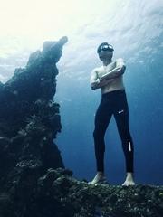 巴厘岛沉船拍摄