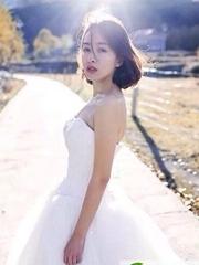 唯美浪漫的新娘短发发型