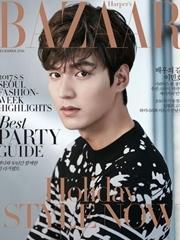 李敏镐登时尚杂志封面 五官帅气迷人魅力