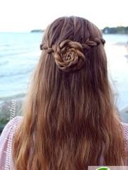 女生订婚发型大全 端庄贤淑女生订婚发型教程