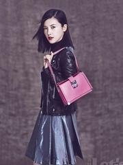 杨子姗被质疑整容 时尚大片脸又变了!