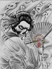 女士日本艺妓纹身素材图案