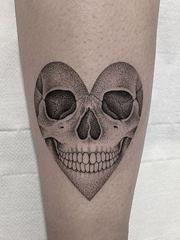 多款细致古怪的纹身图案作品来自玛勒