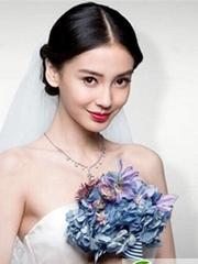 圆脸新娘适合什么新娘发型