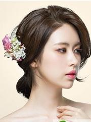 韩剧中的新娘发型 准新娘们必备的新娘发型