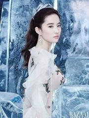 刘亦菲化身冰雪美人