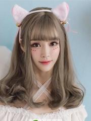 韩式女神烫发发型