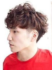 男生流行短染发 时尚男生棕色染发
