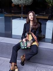 Dior携手张慧雯演绎Dior Lady Art系列手袋